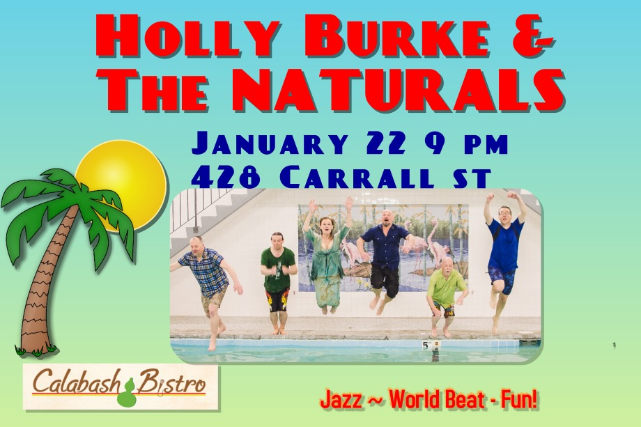 HB & The NATURALS LIVE @ Calabash Jan 22