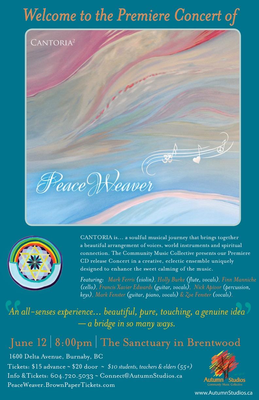 June 12 PeaceWeaver